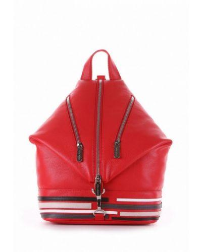 Красный рюкзак городской Alba Soboni