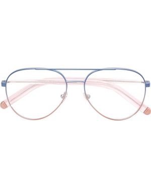 Оправа для очков металлические - синие Retrosuperfuture