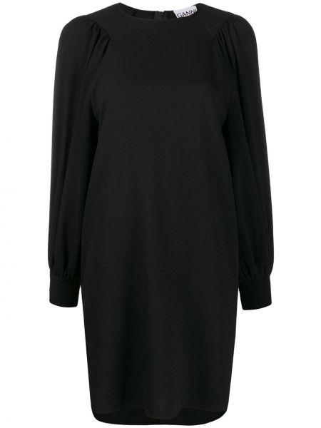 Платье на молнии трапеция Ganni