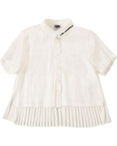 Biała koszula Karl Lagerfeld