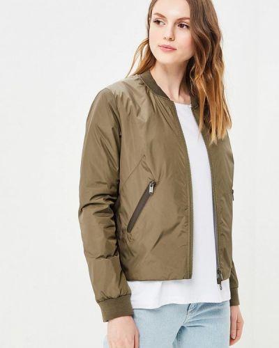 Утепленная куртка весенняя зеленая Bomboogie