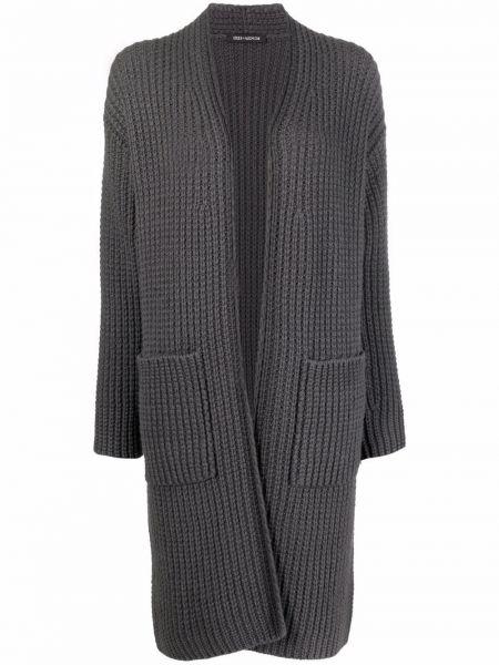 Серое кашемировое пальто Iris Von Arnim