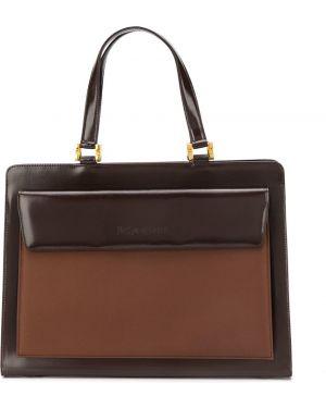 Teczka skórzany brązowy Yves Saint Laurent Pre-owned