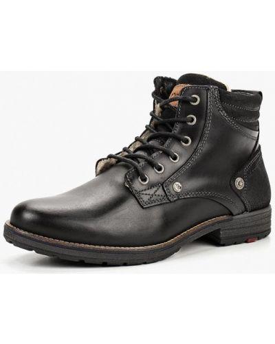 Ботинки осенние кожаные высокие El Tempo