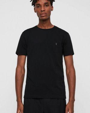 Черная футболка Allsaints