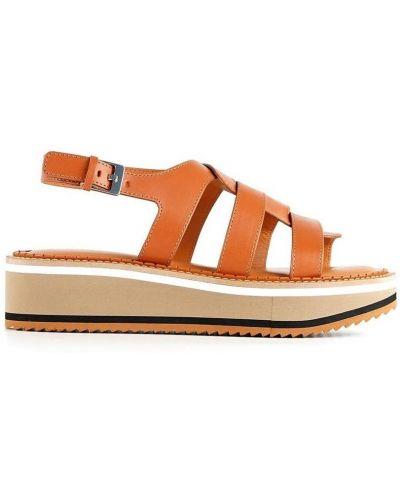 Brązowe sandały Clergerie