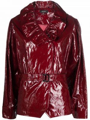 Красная куртка глянцевая Isabel Marant