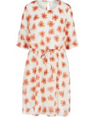 Платье с цветочным принтом с принтом Ichi