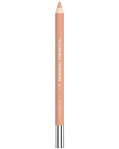 Wodoodporny jasnoróżowy ołówek do ust z aplikacjami Nabla
