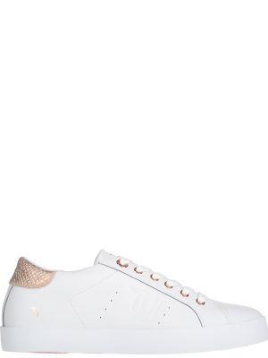 Кеды белые Trussardi Jeans