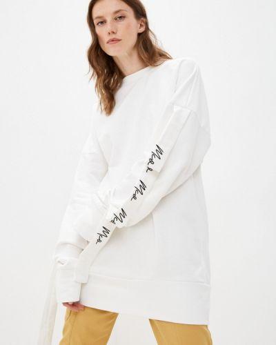Хлопковый свитшот - белый Fresh Cotton