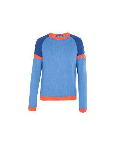 Голубой свитер Armani Jeans