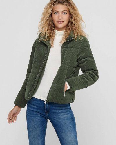 Зеленая теплая куртка Jacqueline De Yong