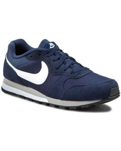 Białe półbuty zamszowe Nike