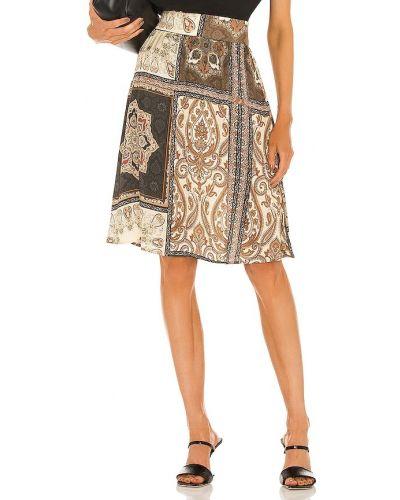 Сатиновая юбка миди Chaser