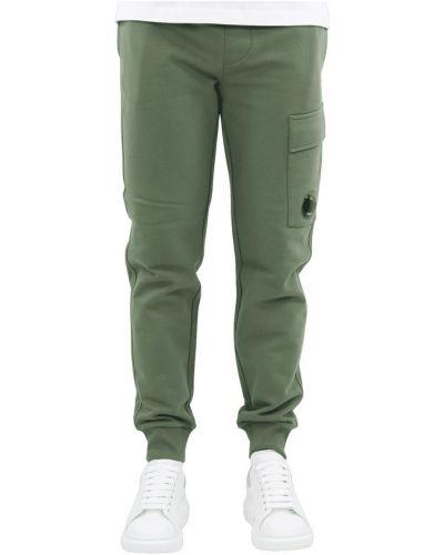 Zielone spodnie dresowe C.p. Company