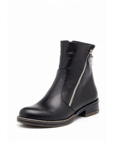 Кожаные ботинки на каблуке Frivoli