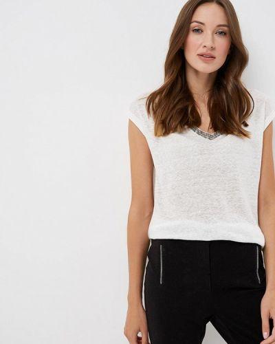 Белая футболка Naf Naf