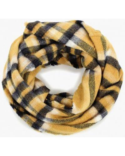 Желтый шарф осенний Befree