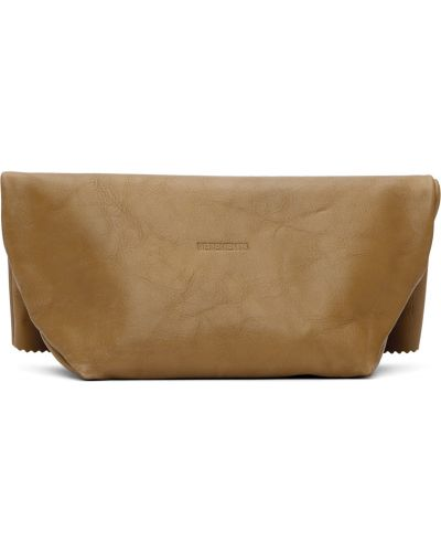 Złota torebka - beżowa Vetements