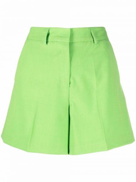 Zielone szorty z wysokim stanem Blanca Vita