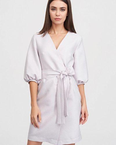Платье с запахом осеннее Evalution