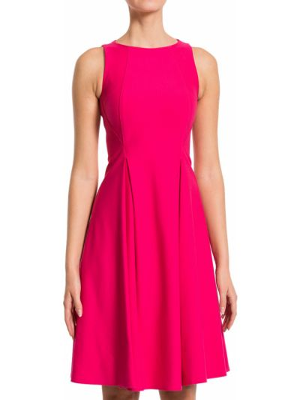 Платье из вискозы - розовое Plein Sud