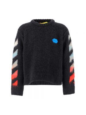 Sweter oversize - biały Off-white