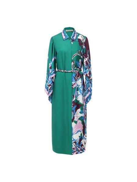 Платье шелковое Emilio Pucci