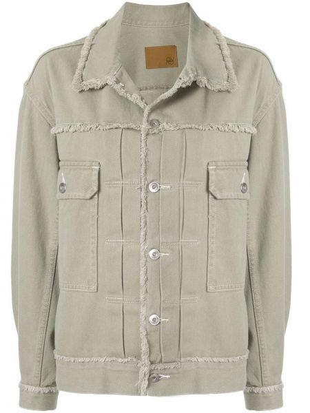 Куртка с бахромой - зеленая G.v.g.v.