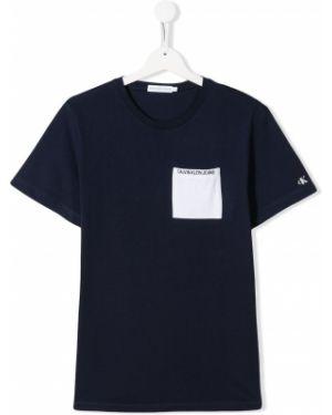 Белая джинсовая рубашка Calvin Klein Jeans