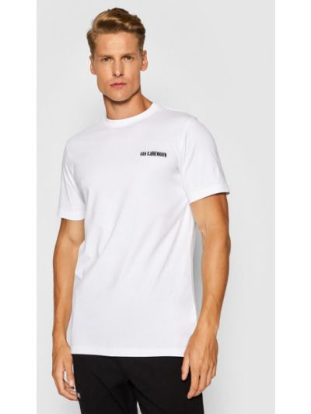 Biała t-shirt Han Kjobenhavn