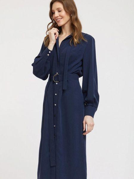Синее платье Charuel