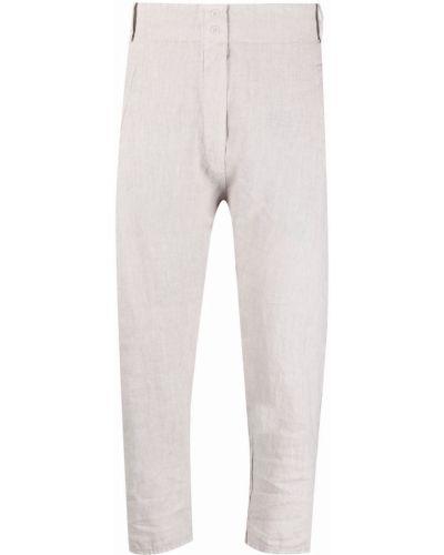 Хлопковые укороченные брюки с потайной застежкой Kristensen Du Nord