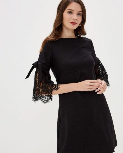Черное вечернее платье Savage