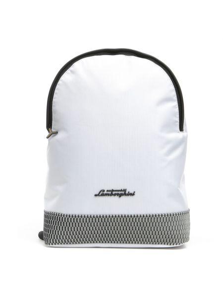 Biały plecak Automobili Lamborghini