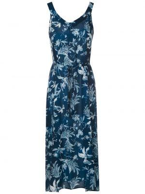Платье миди с разрезами по бокам на молнии без рукавов свободного кроя Lygia & Nanny