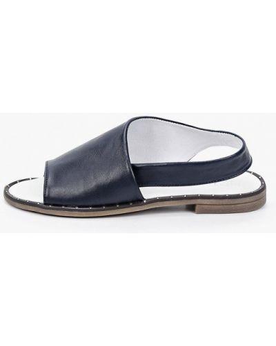Синие кожаные сандалии Der Spur