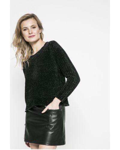 Черный вязаный свитер Jacqueline De Yong
