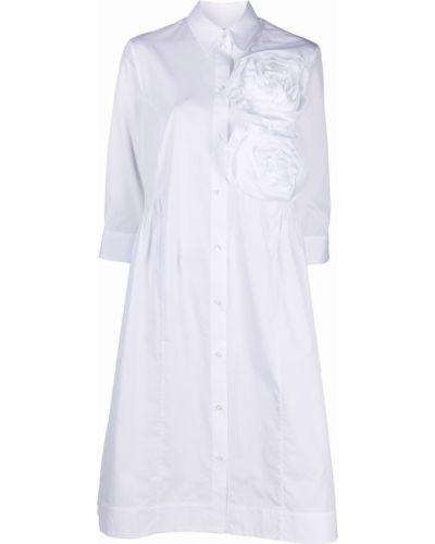 Хлопковое платье - белое Simone Rocha