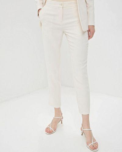 Классические брюки бежевый весенний Gaudi