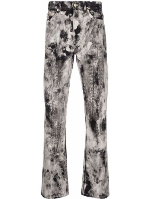 Прямые джинсы классические - серые Eytys