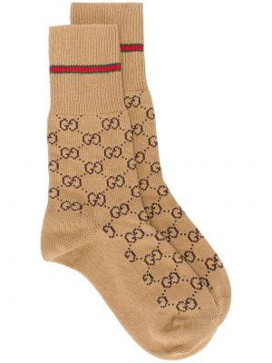 Prążkowane skarpety bawełniane Gucci