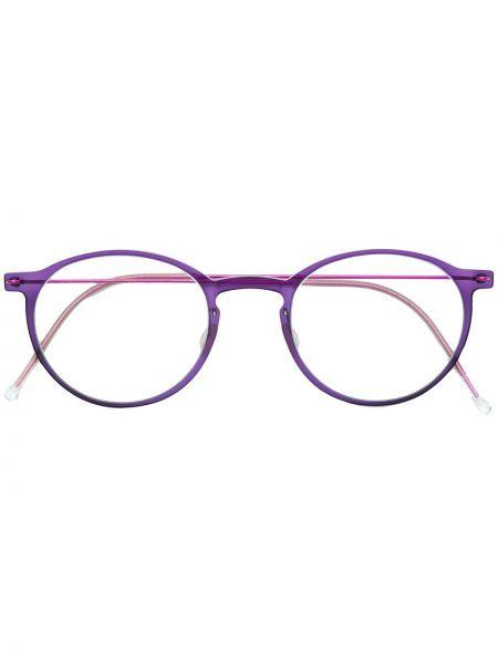 Oprawka do okularów metal okrągły Lindberg