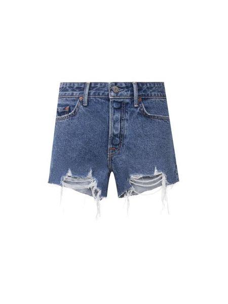 Джинсовые шорты - синие Grlfrnd
