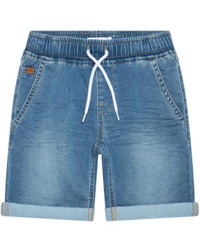 Niebieskie szorty jeansowe Name It
