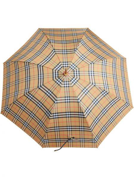 Parasol żółty Burberry