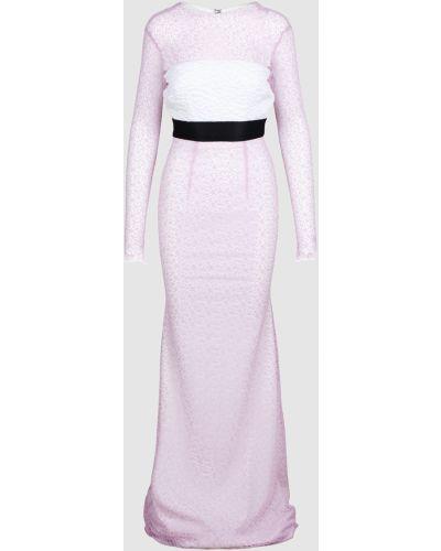 Платье макси - фиолетовое Alex Perry