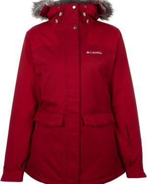 Куртка с капюшоном - красная Columbia