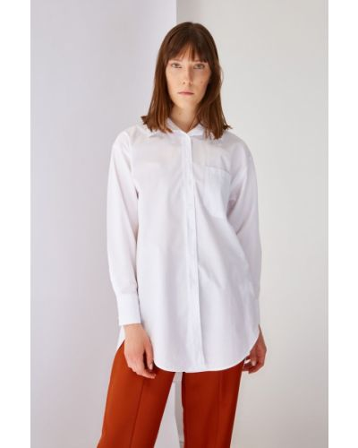 Biała tunika bawełniana Koton